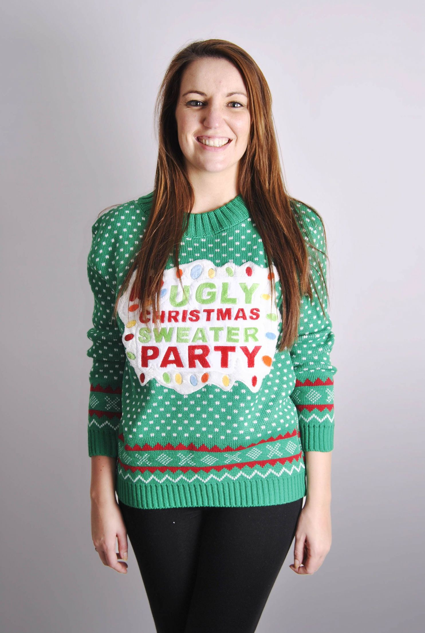 Ladies Ugly Christmas Sweater Party Christmas Jumper